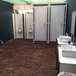 Banheiros móveis de luxo