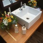 Banheiros de luxo para locação